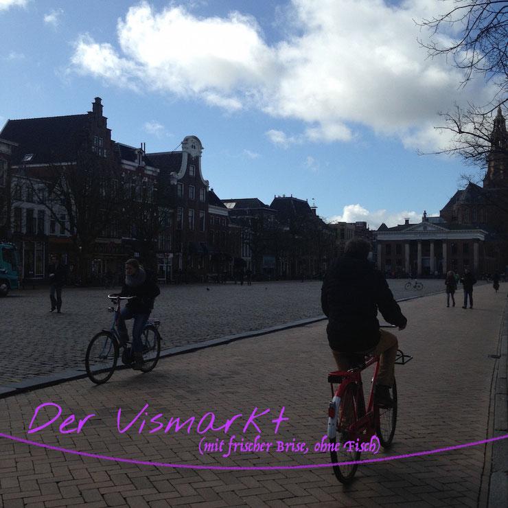 Groningen: Vismarkt (ohne Fisch)