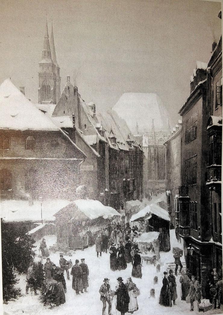 Christkindlmarkt Nürnberg, Weihnachtsmarkt, Adventsmarkt; München, Christkindlmarkt in München; Hellseherin Natalie Dell Hamburg