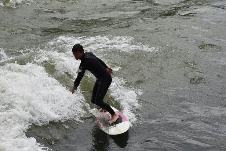 Surfer in Bremgarten (AG)