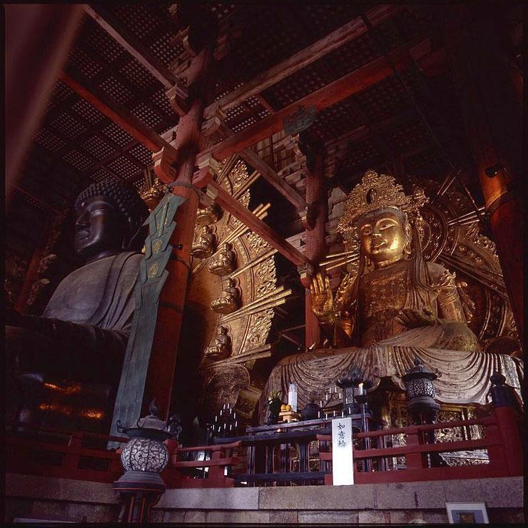 Buddha Statuen Tōdai-ji, Nara