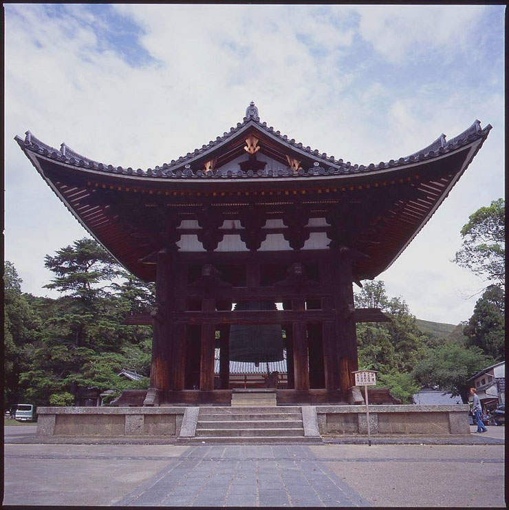 Glockenhaus des Tōdai-ji Tempels, Nara