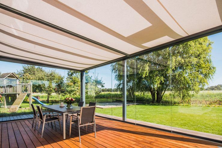 Solarlux Markise Terrassendach Verglasung Sommergarten Wintergarten Outdoor Living Terrasse Garten Schreinerei Jertz Mainz