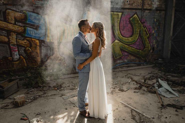 außergewöhnliche Hochzeitsfotos Berlin