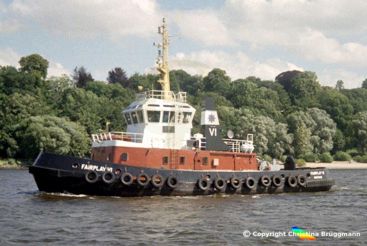 SchlepperFAIRPLAY VI in Hamburg, 1996
