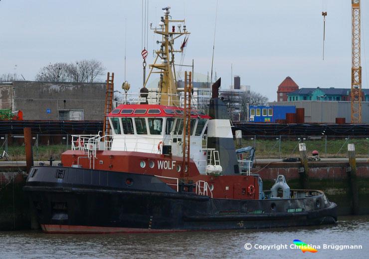 Schlepper WOLF, Bugsier Reederei