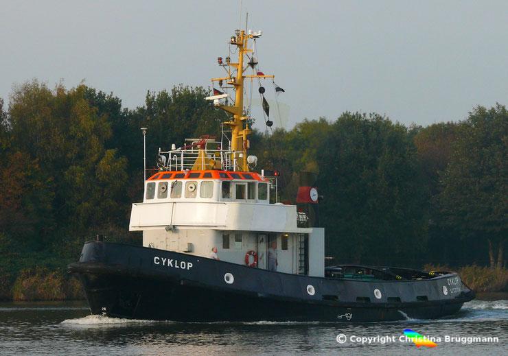 Schlepper CYKLOP, Nord-Ostsee Kanal