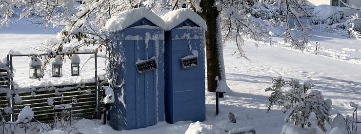 Winterpause im Bluehouse