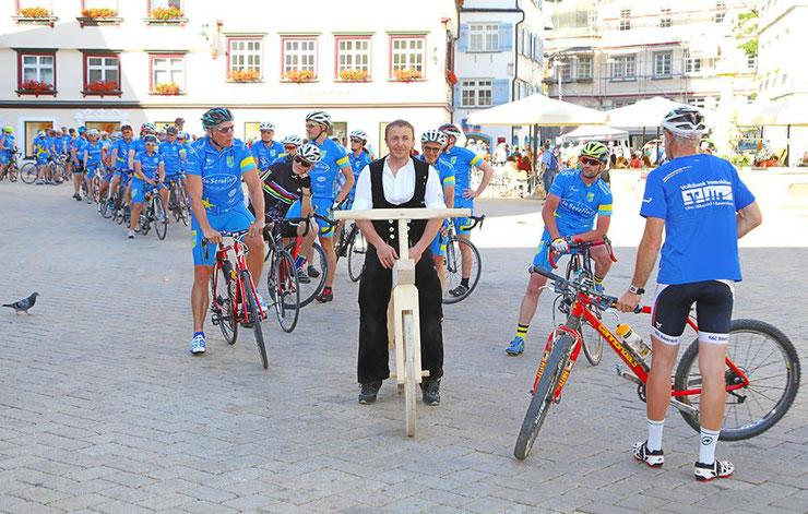 ... 223 Radler in Biberach und darunter 68 Radtreff-Mitglieder radln für den guten Zweck ...