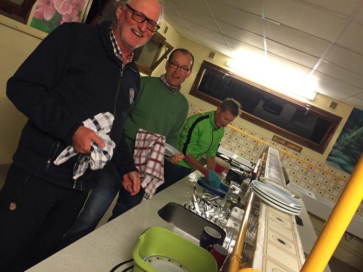 Radtreff Küchenteam bei der Arbeit
