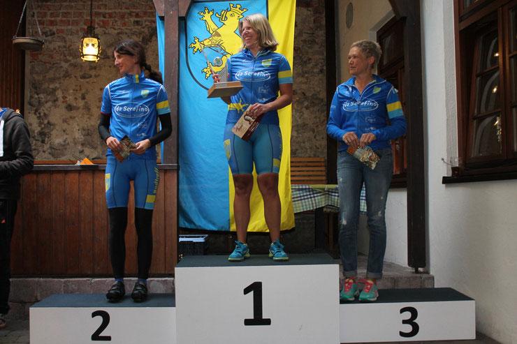 Ulrike Burkhardt / Sandra Baumann / Gudula Keuschnig (von links nach rechts)