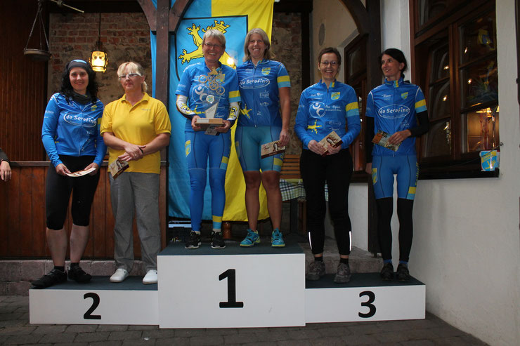 Silvia & Birgit / Silvia & Sandra  / Alexandra & Ulrike