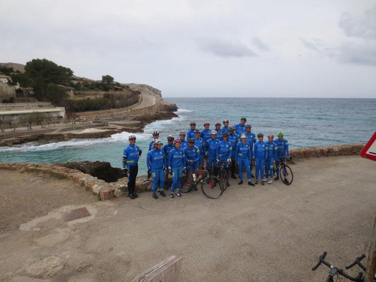 19.03.2015 - Gruppe Radtreff in der Bucht von San Vicence