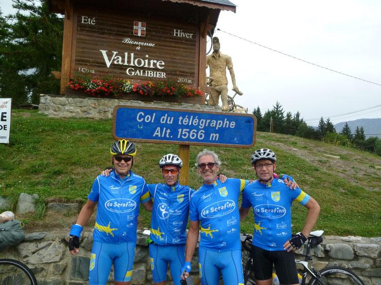 Tour  Col du Telegraphe / Col du Galibier (Gruppe Anton, Martin, Klaus u. Erich)
