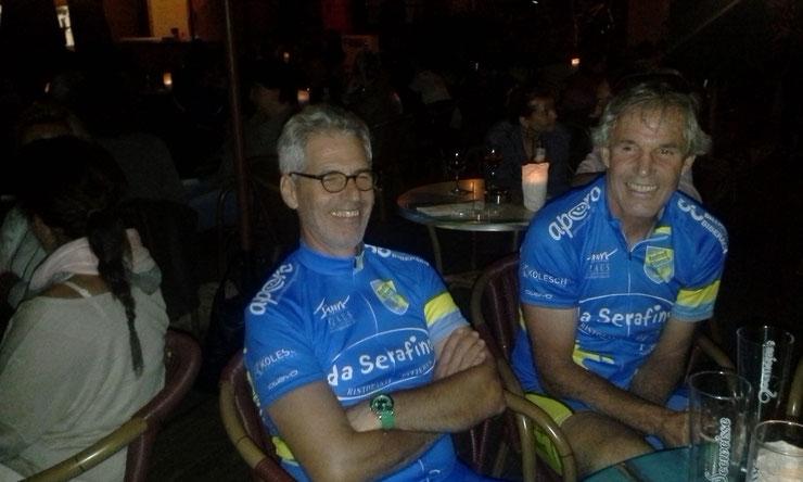 Donnerstag, 31. Juli 2014 - Radtreff im Beach Club in Friedrichshafen am Bodensee