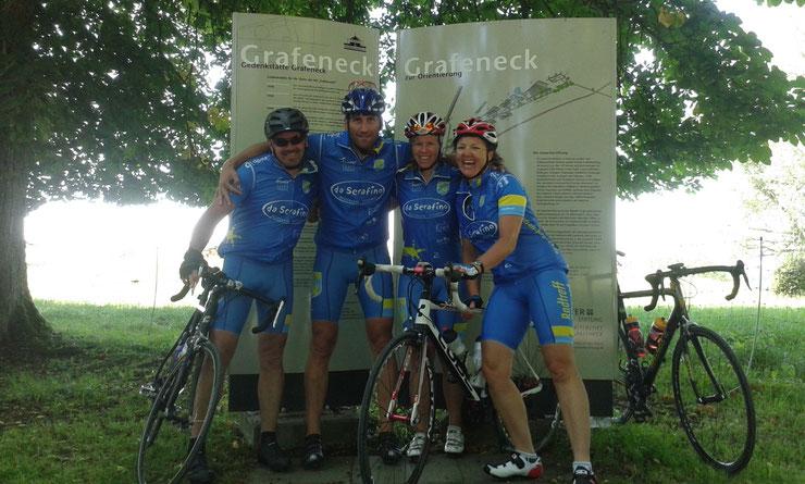 Gedenkstätte Grafeneck 21.06.2014 / Jens, Hoss, Sandra, Lydi