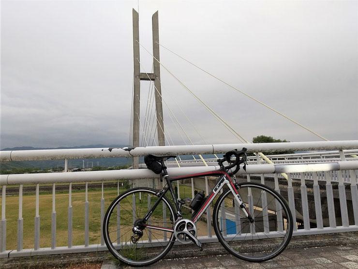 南河内サイクルライン 石川サイクル橋