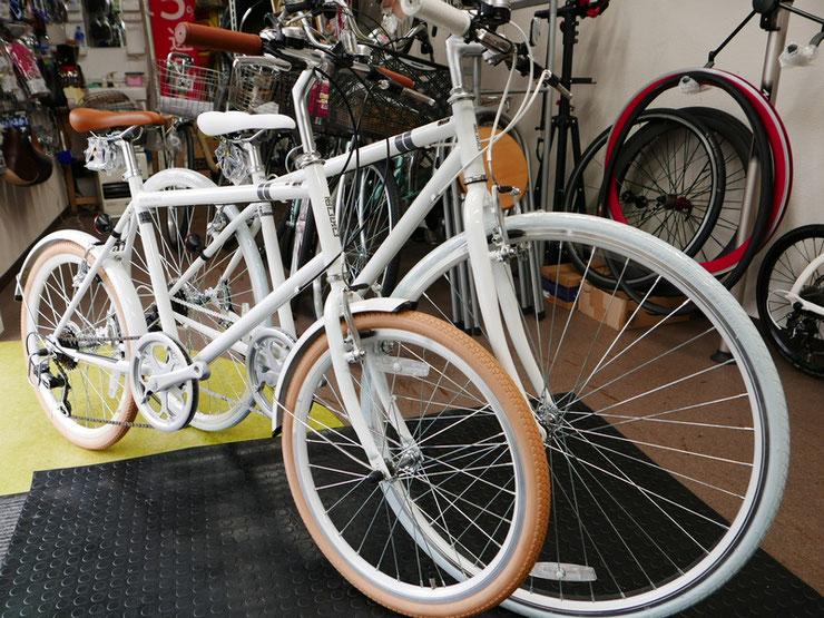 700cと20インチの自転車