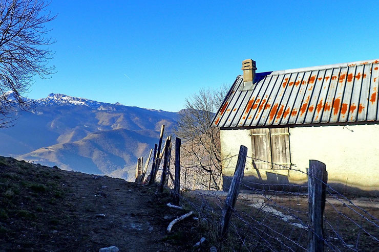 La cabane de Castéruch.