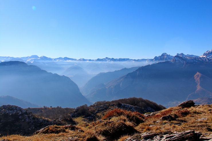 La Vallée d'Aspe vers le Somport.