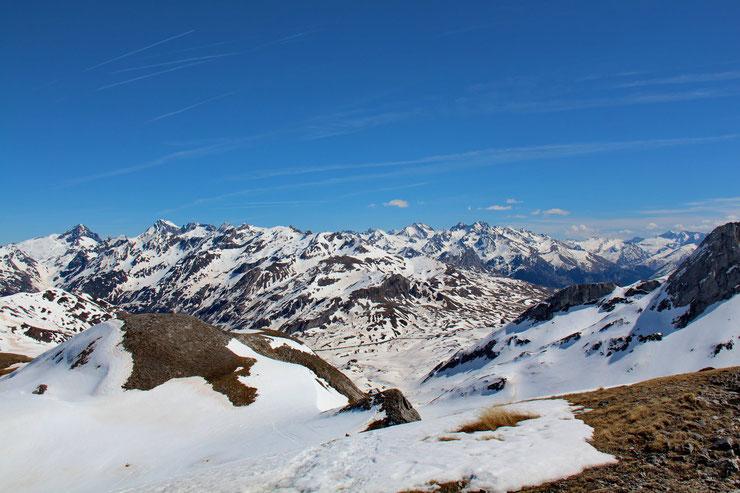 Vers le Col du Pourtalet.