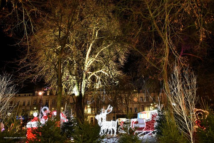 Jardin du Père Noël à Amiens, photo non libre de droits