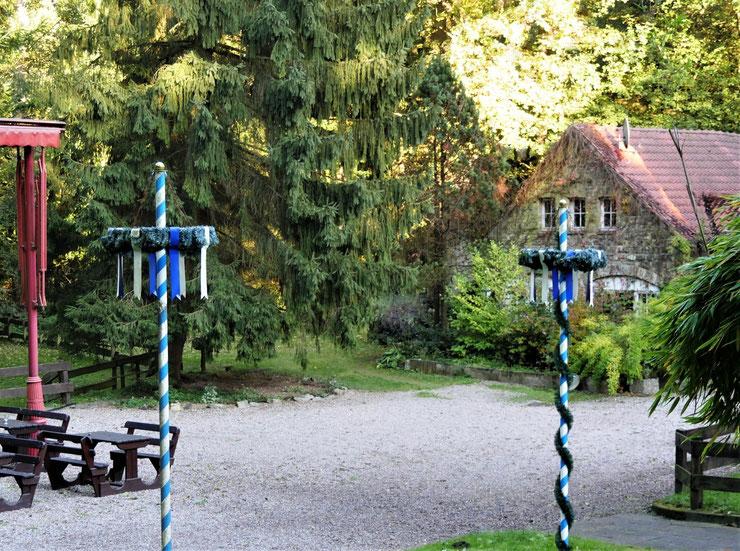 Gasthaus Silberbachmühle, Foto F. Möller