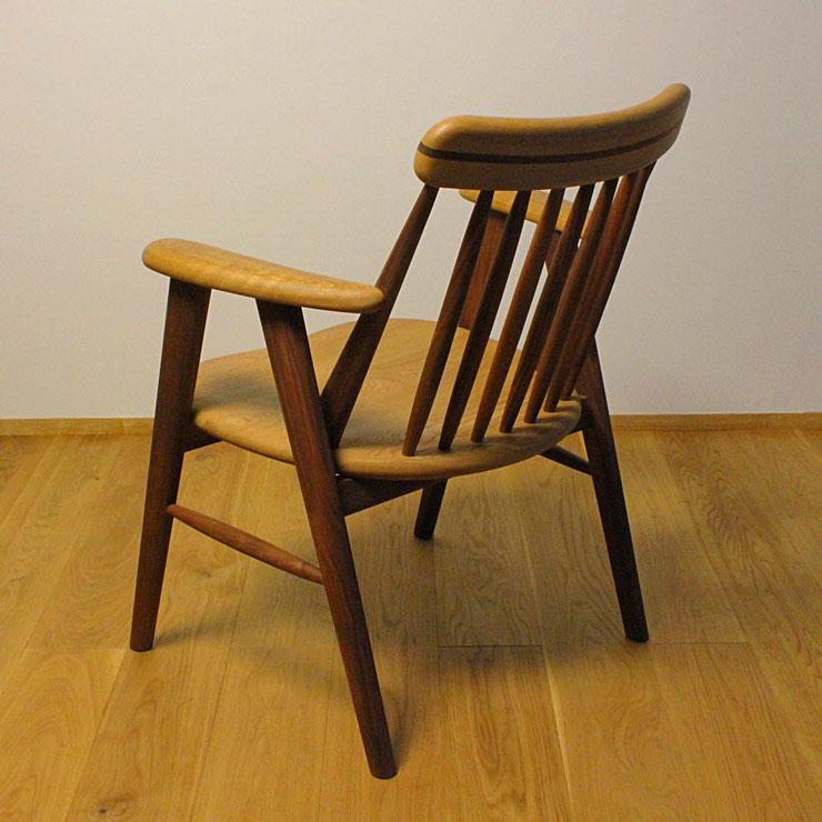 ゆったりそら豆椅子(背面)