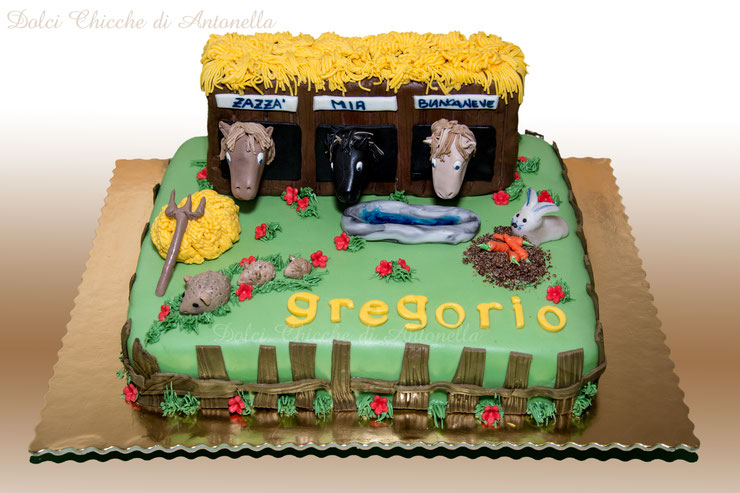 torte-fattoria-cavalli-bimbi-dolci-liguria-la spezia-cake design