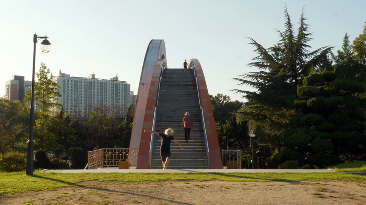 "Pfeifer & Kreutzer ""Walking through Gwangju"" 2019, Video Still"