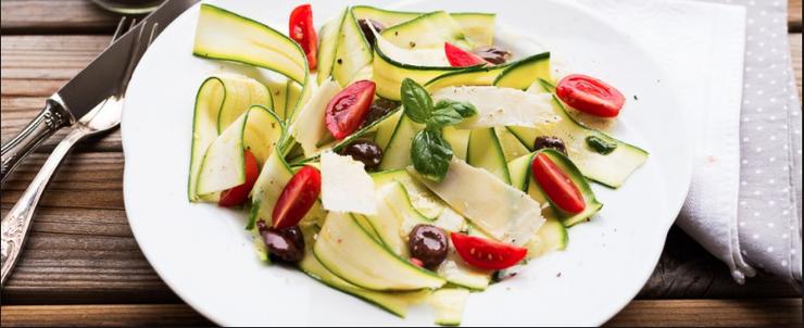 Ricetta carpaccio di verdure leggera