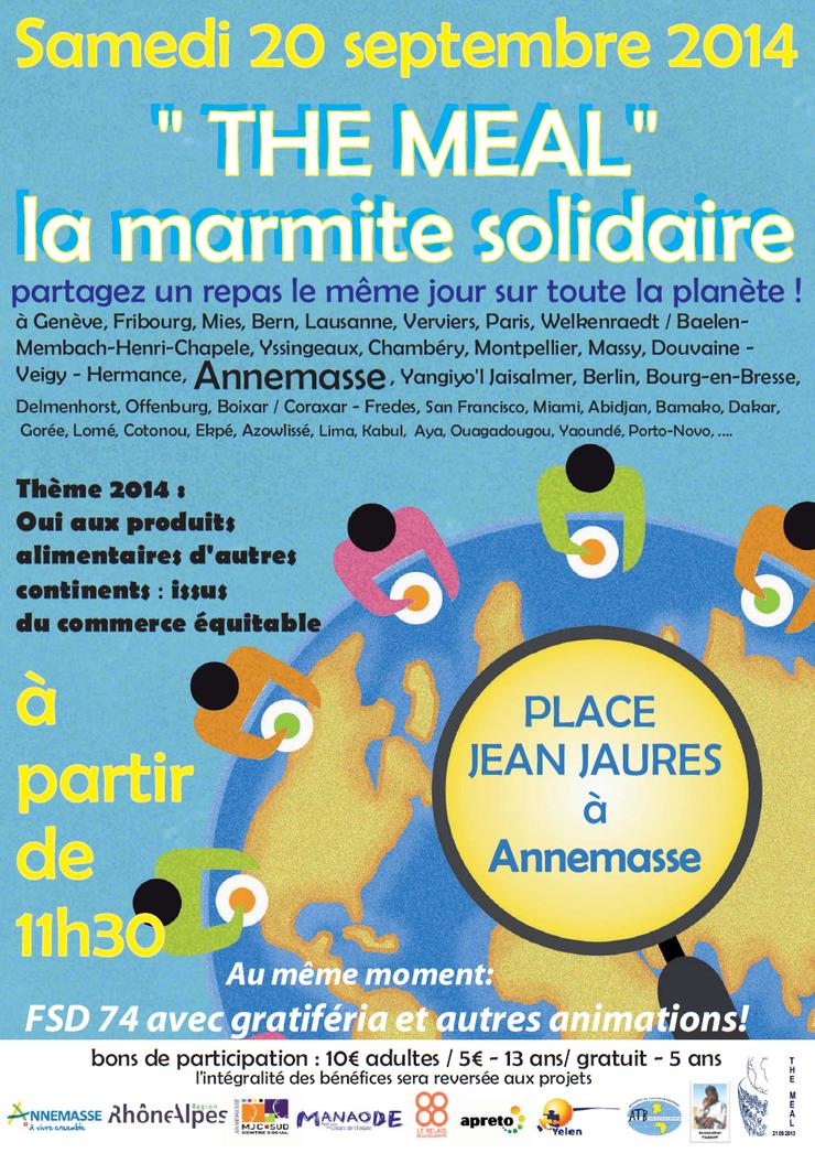 La Marmite Solidaire 2014 Annemasse