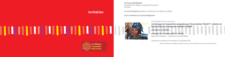 Tagayt - Vernissage Couleurs du Sahel