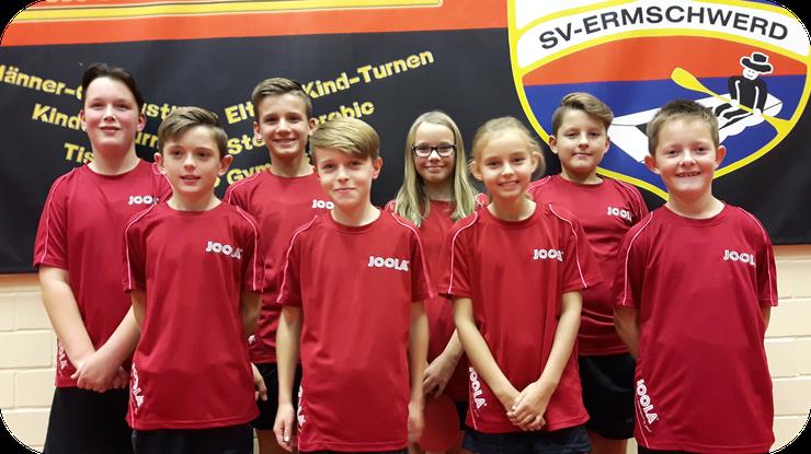 Leon Amend, Timon Herdt, Maximilian Lätsch, Finn Wiesendorf, Nele Speck, Laura Tusch, Younes Schaaf, Luca Müller