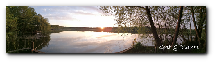 Lubowsee am Abend
