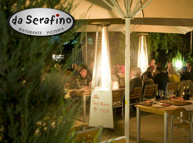 Jeder Teilnehmer erhält nach dem Radtreff-Tour ein Freigetränk bei Serafino !