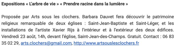 Infolocale - Ouest-France - 20 août 2019