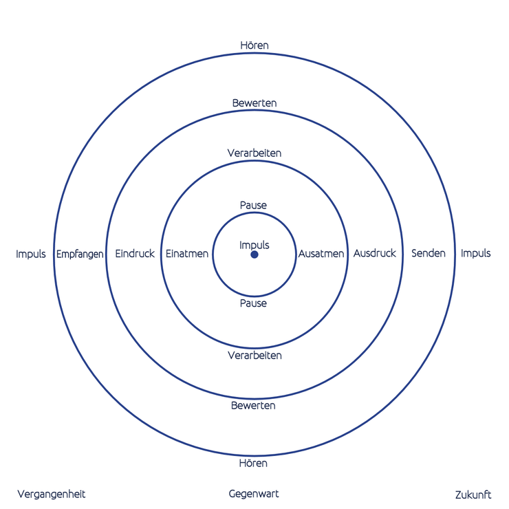 Holografisches Schema des RegulationsKreislaufs