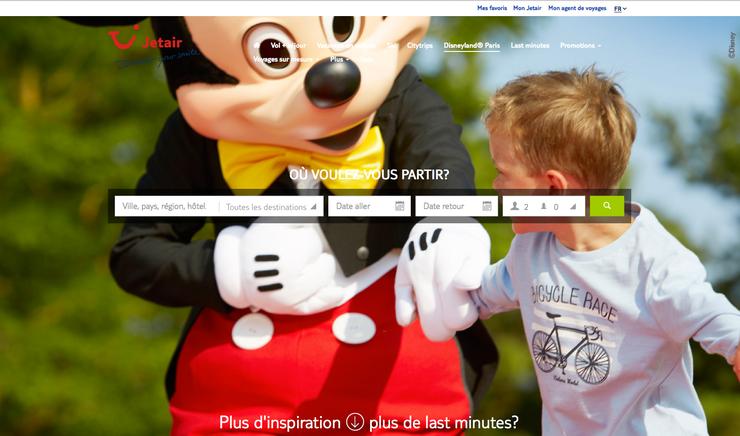Cliquez sur l'image pour réserver votre séjour à Disneyland Paris via notre agence