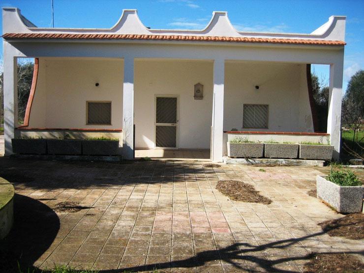 Das Landhaus in 2009 - unrenoviert