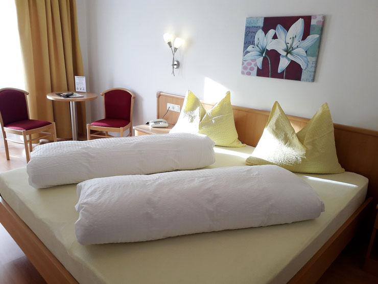 Alpinresort Hotel Reschnerhof in Reschen am Reschenpass - Vinschgau - Südtirol - Außenansicht