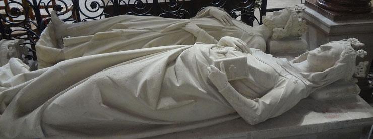 Robert II et Constance d'Arles (Source : Laure Trannoy)