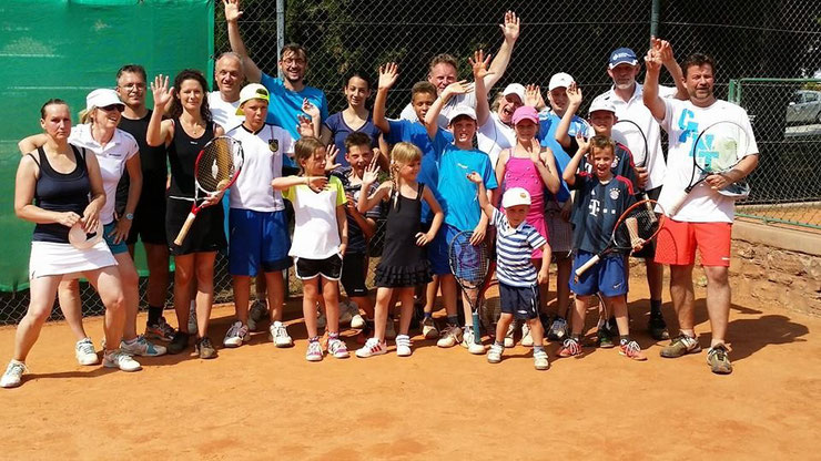 Tenniscamp Juni 2014