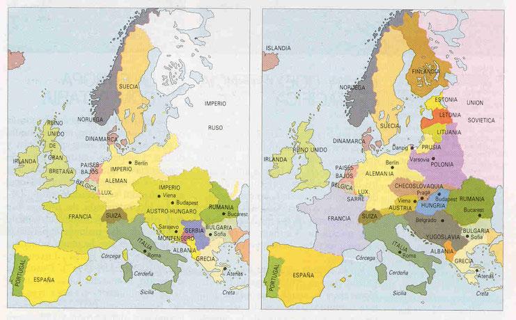 Europa 1914-1920