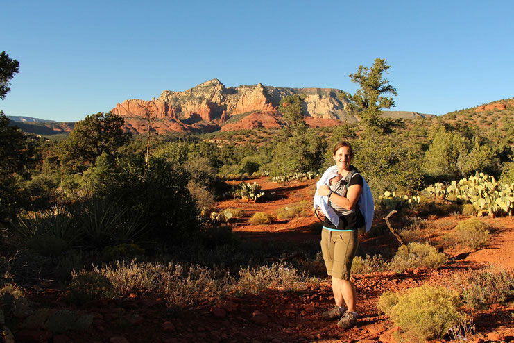 Huckaby Trail Sedona - Hike with Baby