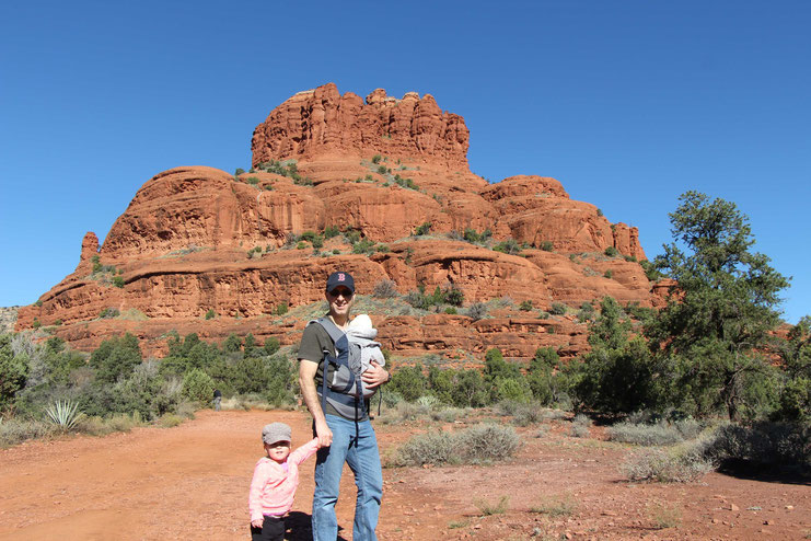 Bell Rock Pathway Sedona - Travel with Baby