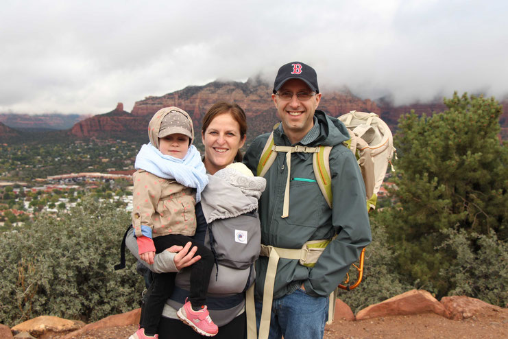 Sedona View Trail - Hike with Baby
