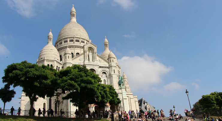 Sacre-Coeur Paris With Baby