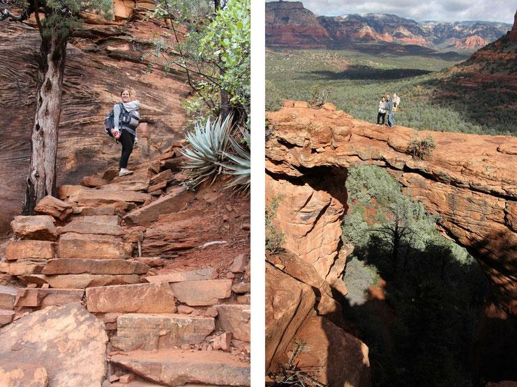 Devil's Bridge Hike Sedona - Travel with Baby
