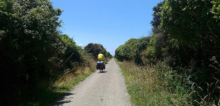 Nach Ross führt der Trail über ein ehemaliges Bahntrassee.