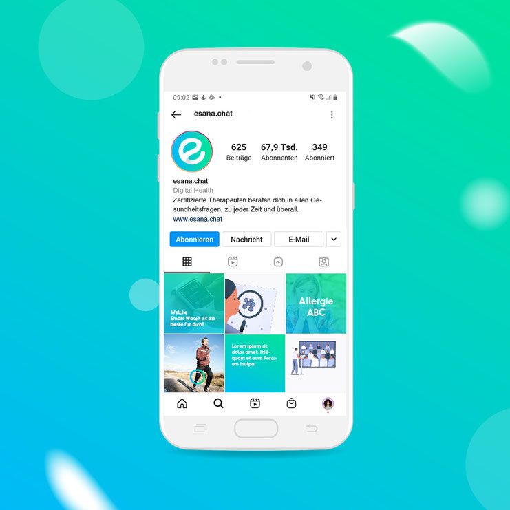 Illustration Corporate Design eHealth Medizin Startup